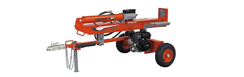 yardmax yu 2566 - the best log splitter